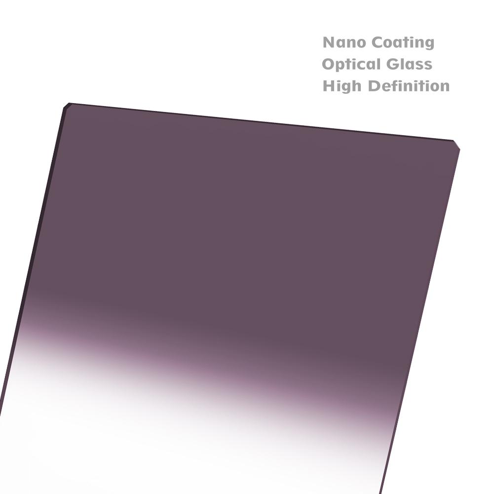 NIP-150-SGND1.5 Black 150 x 170mm 1.5 NiSi Soft Graduated Neutral Density Glass Filter GND32
